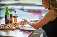 Návštěva ve Sport Café Pizzeria